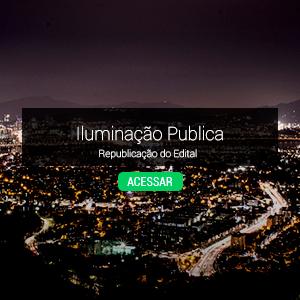 Republicação do Edital sobre Iluminação Pública