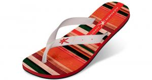 Sandália Kenner SUMMER GLASS STRIPES Laranja