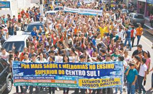 Manifestação em Iguatu-CE