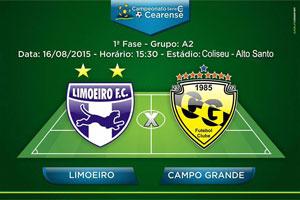 Partida de Futebol Limoeiro F.C. x Campo Grande