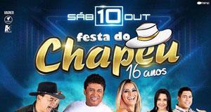 Festa do Chapéu 16 anos