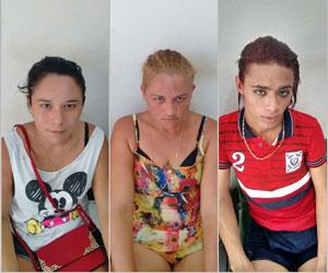 Maria Renata Silva, Aline da Silva Matias e Erison da Silva