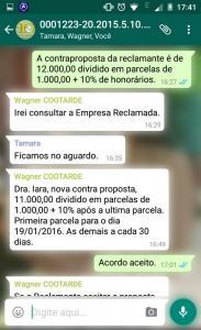 Conciliação por Whatsapp 03